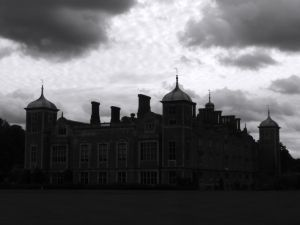 Blickling Hall in Norfolk, ancestral Home of Anne Boleyn, her ghost is said to walk here.