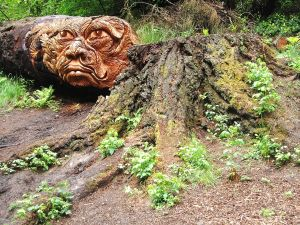 The Green man at Cragside, Northumberland