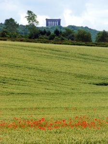 Penshaw Monument, linked to the Lambton Worm legend.