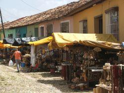 Market in Trinidad