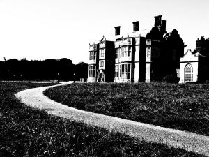 Felbrigg Hall, the ghost of William Windham haunts the gothic library, click image to read more.