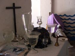 Yemaya's altar