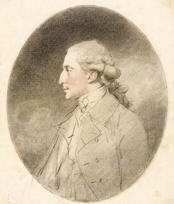 Andrew Robinson Bowes, MP, by John Downman 1781 (Fitzwilliam Museum Cambs)