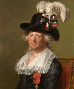 Chevalier d'Eon by Thomas Stewart, bought by the National Portrait Gallery. Click for full picture. Photograph: National Portrait Gallery, London