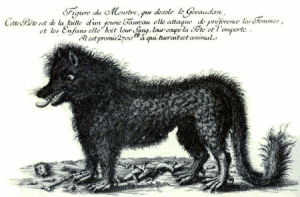 Contemporary Wanted Poster for the Beast, Public domain, via Wikipedia.