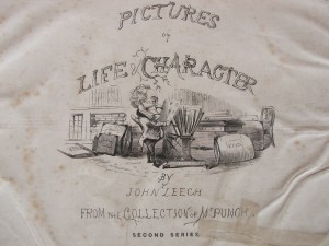 Frontispiece of Leech's Pictures