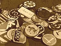 18th Century Gaming chips, image by Lenora