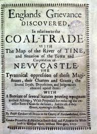 Frontispiece of Ralph Gardiners book published in 1655