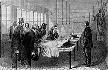 New York Bellevue Morgue, public domain image.