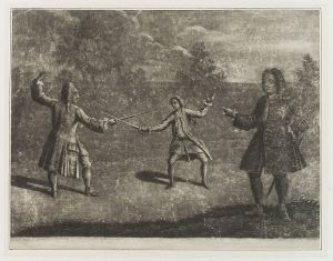 4th Duke duelling, public domain image via wikimedia