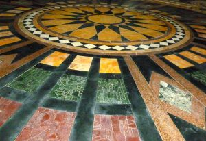 Floor tiles, image by Miss jessel edited by Lenora