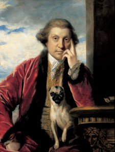 George Selwyn by Joshua Reynolds