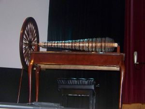 Replica of Franklin's Glass Armonica. Image by Vince Flango, 2008