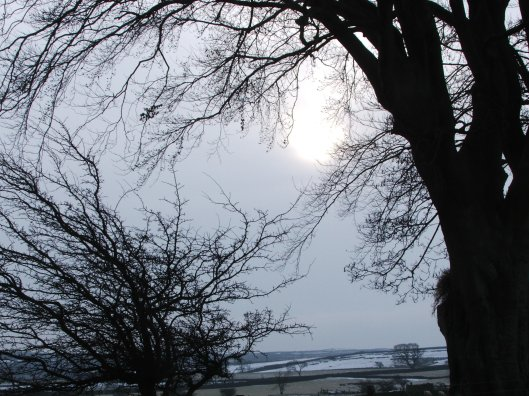 Blanchland, Winter 2010