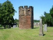 Watchtower at Dalkeith Cemetery, Image from Wikimedia