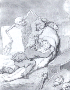 Resurrection Men - by Thomas Rowlandson