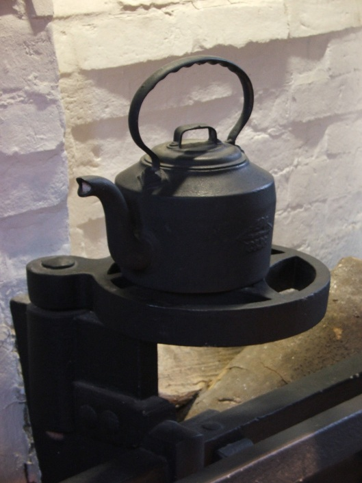 Cast Iron Kettle from the Old Kitchens.  Image by Lenora.