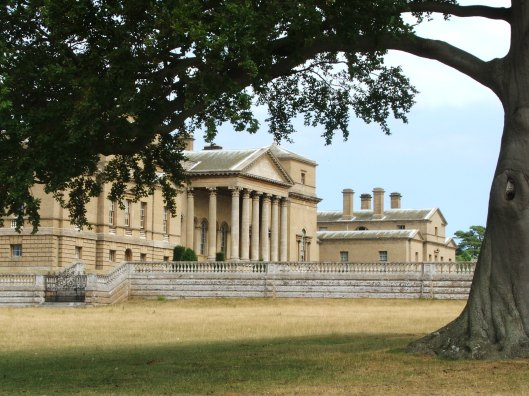 The south face of Holkham Hall.  Image by Lenora.