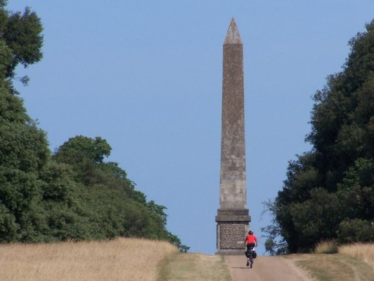 The Obelisk is 80ft high and was built in 1730.  Image by C Paul via Wikimedia.