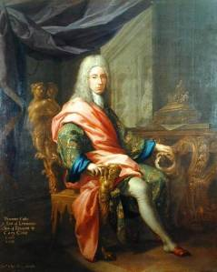 Thomas Coke by  Trevisani.  Collection of the Earl of Leicester.