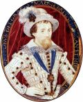 James I by Nicholas Hilliard