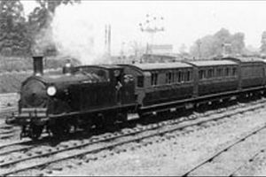 Necropolis Train, Image from John Clarke via Fortean Times
