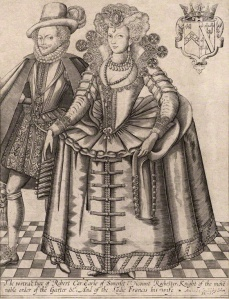 Robert and Frances, Earl and Countess of Somerset by Reginold Elstrack