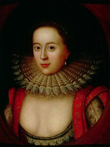 Lady Frances Howard, Countess of Somerset c1615 by William Larkin [public domain]