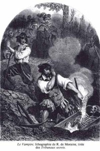 Moraine_le_vampireLe Vampire,engraving by R. de  Moraine 1864