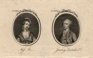 Martha Ray and Lord Sandwich, Town and Country Magazine, 1769