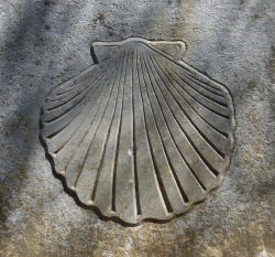 The Conche shell -  iconic symbol of the Camino de Santiago