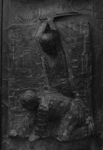 A Martyr being beheaded