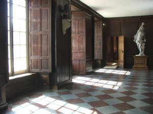 Hampton Court - does Anne's restless spirit roam these corridors?  Image by Lenora