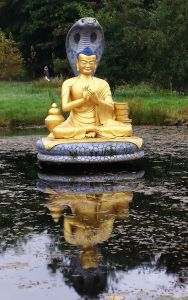 Buddha of the lake