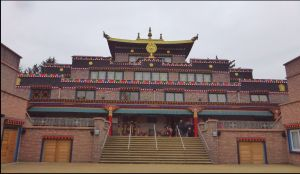 Samye Ling Buddhist Temple.  Image by Lenora.