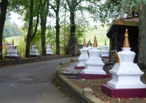 The road to Samye Ling.  Image by Lenora.