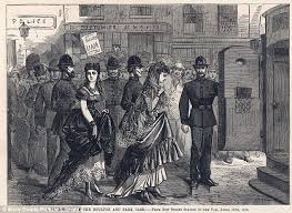 Fanny and Stella arrested at the Strand Theatre