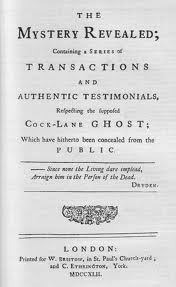 The Mystery Revealed, 1762, attrib Oliver Goldsmith.