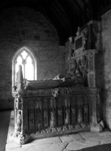 The Grey Tomb, St Peters Parish Church. Image by Lenora.