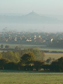 Glastonbury Tor. Source Wikimedia.