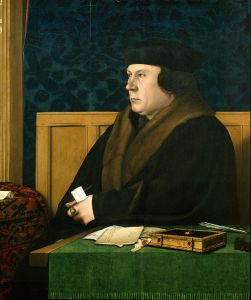 Thomas Cromwell by Hans Holbein the Younger.
