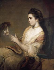 Kitty Fisher by Joshua Reynolds via Wikimedia.