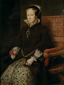 Queen Mary Tudor, known as Bloody Mary.