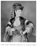 Lady Mary Wortley Montague, in Turkish Dress.