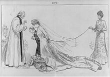 The ambitious mother and the obliging clergyman by Charles Dana Gibson.