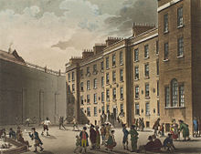 The Fleet Prison. Image Wikimedia.