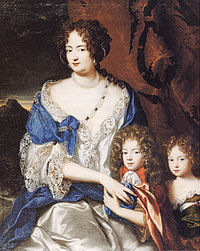 Sophie Dorothea and her children. Image source Wikimedia.