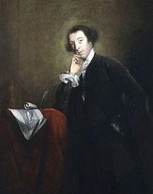 Horace Walpole by Image by Joshua Reynolds, 1756. Image Wikimedia.
