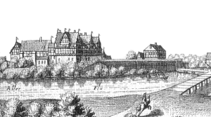 Ahlden Castle in Celle . Image source Wikimedia.