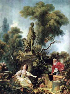 The Meeting. JH Fragonard. Frick Collection NY.